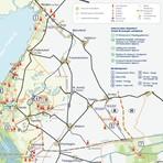 NP-Karte: Gebiet mit Beobachtungsplattformen