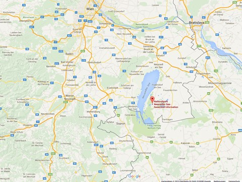 GoogleMaps: Nationalpark Infozentrum